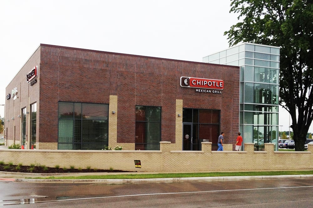 NOW OPEN!! - Wilkus Architects partners with Chipotle Mexican Grill to open their second restaurant in the greater Grand Rapids area.