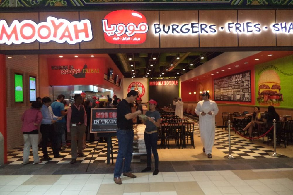 NOW OPEN!! - MOOYAH Burger & Fries officially announced the opening of their newest location in Dubai, UAE.