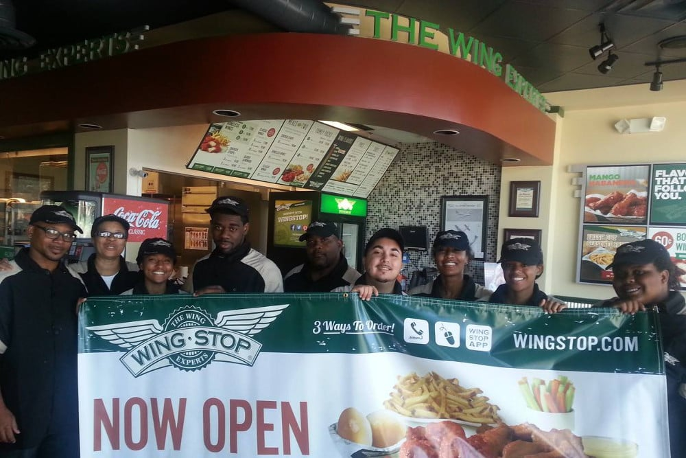 NOW OPEN!! - Wingstop Restaurants and local brand partner officially announced the opening of their newest restaurant location at 1452 N.E. 163rd Street in North Miami Beach, FL.