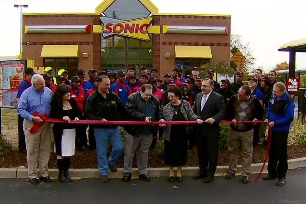 NOW OPEN!! - Sonic Drive-In officially announced the grand opening of their newest restaurant location at 1365 Boston Post Road in Milford, Connecticut.
