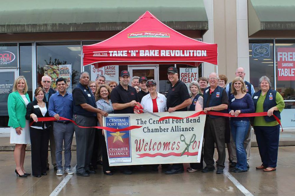 NOW OPEN!! - Papa Murphy's Take 'N' Bake Pizza is proud to announce the opening of their newest location in Rosenberg, Texas.