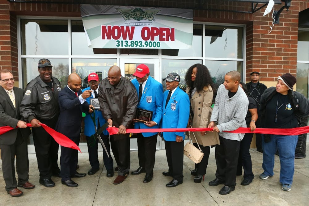 NOW OPEN!! - Wingstop is opening its newest wing location in Detroit at 1331 8 Mile Road with some added Detroit history.