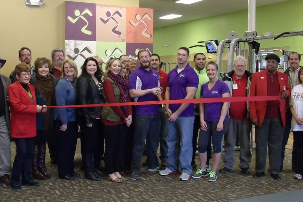 NOW OPEN!! - Wilkus Architects works with Anytime Fitness to develop it's latest location in Big Spring, Texas.