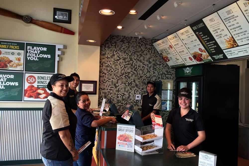 NOW OPEN!! - Wingstop has officially announced the opening of their newest restaurant location in Downey, California.