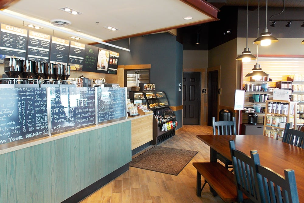 NOW OPEN! - Caribou Coffee officially announced the opening of their newest coffeehouse location in Coon Rapids, Minnesota