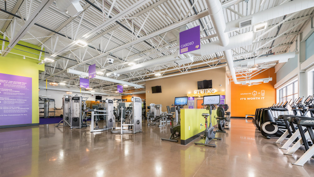 NOW OPEN!! - Wilkus Architects works with Anytime Fitness to develop it's latest location in Zelienople, Pennsylvania.