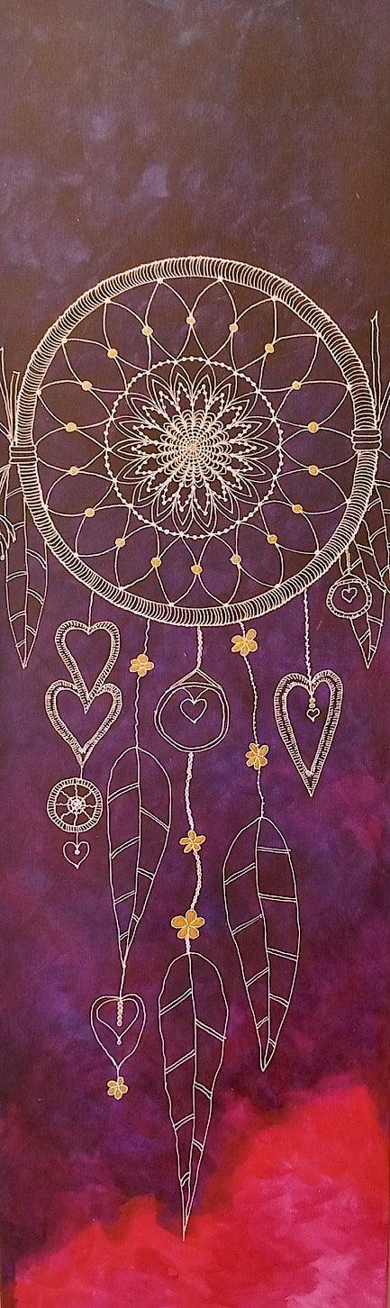 Purple Dreamcatcher by Lynn Hanford-Day