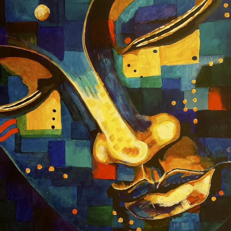 Blue Buddha by Lynn Hanford-Day