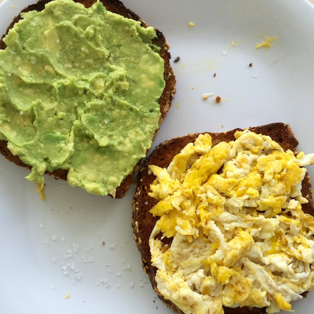 Picture 1: This fine looking breakfast temptation was my first flirtation with avocado toast. I had been on the Pinterest-prowl and came across the ingenious combination. Upon my first bite, I knew it was a match made in heaven! But don't think my first bite came before an adequately executed photo.
