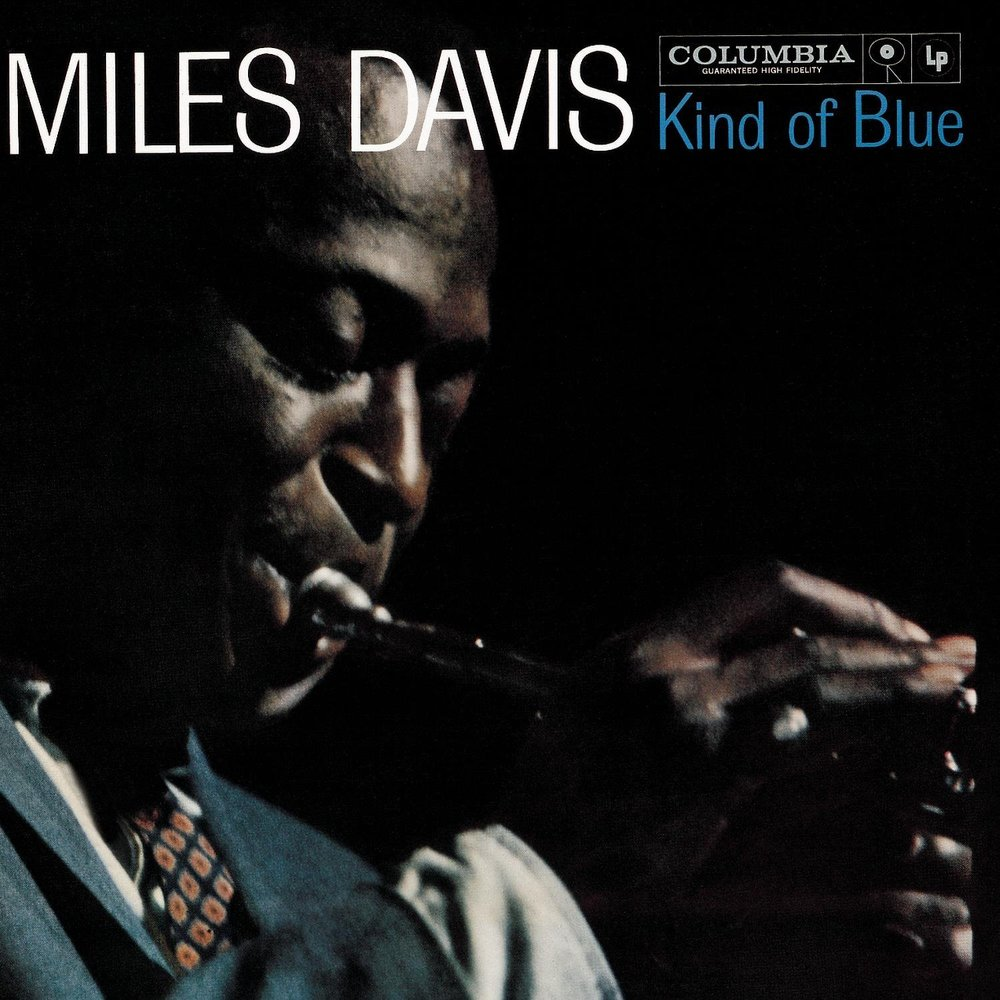 """Kind of Blue - By Miles Davis, 1959This album contains some of the most influential jazz. You can hear the slow saxophone meshing with the piano in songs like """"Blue in Green."""" If you like drums, listen to """"Love for Sale,"""" where the cymbals dictate the entire motion of the sax. This album will show you how cacophony can be music in itself."""