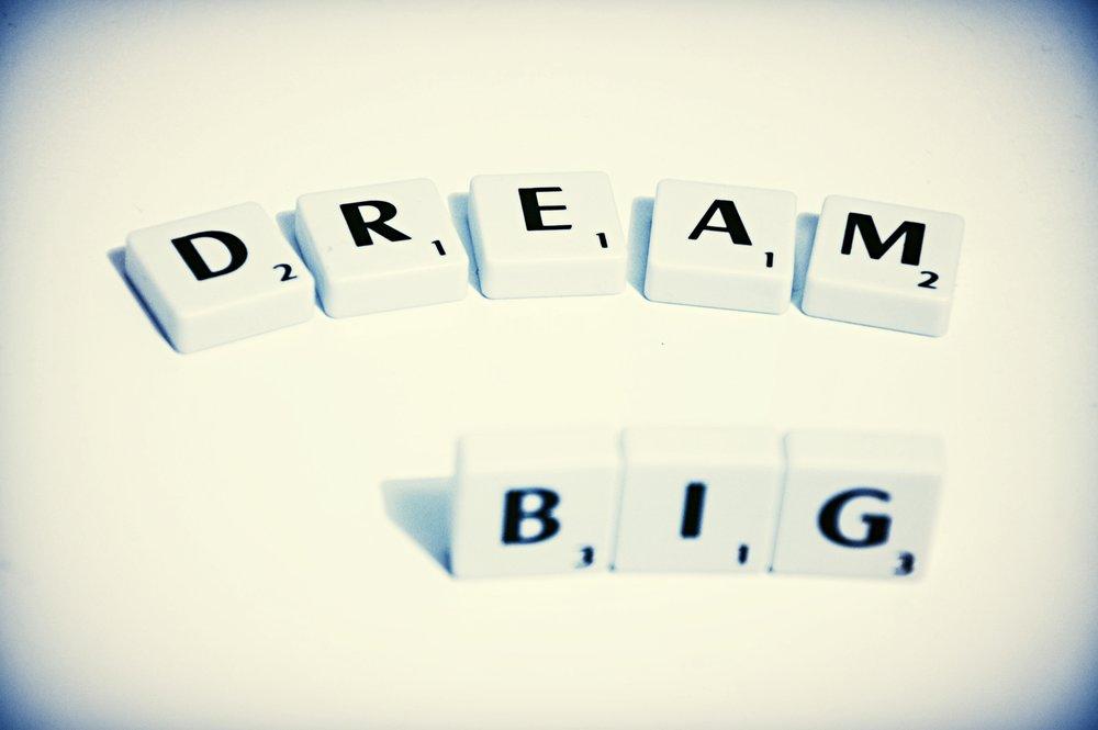 Har du glemt at drømme? Så start igen!
