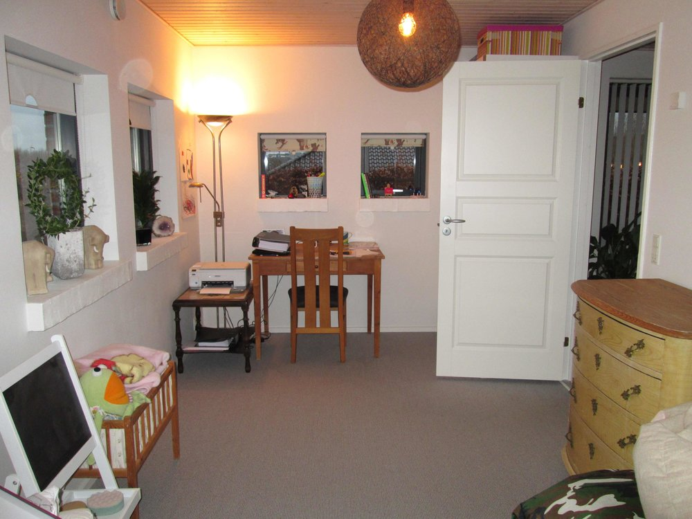 Kontor-Gameroom/Før