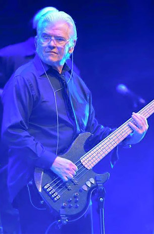 """Versatile While on the road and in the studio with Toto, David Hungate became an early advocate of Alien Audio basses.In 2015 he told Bass Player Magazine, """"I now have three of them, including a fretless, and seldom use anything else."""" Photo provided"""