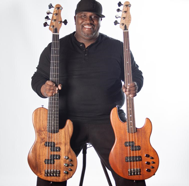 Artist  Dwight Bailey   Bass  5 String Lunar Double P and   5 String Constellation PJ