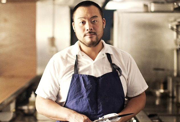 David Chang is traditionally an anti-vegetarian, but is one of the first to sign up to serve the Impossible Burger in his Momofuku Nishi restaurant.