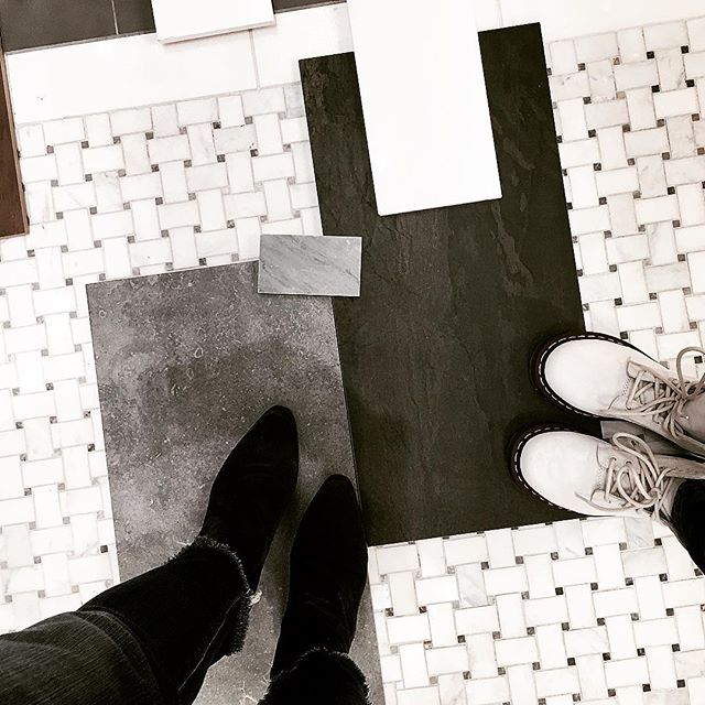 Black, white, dr. martins.... shopping is fun🤗