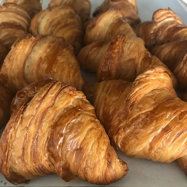 We have plenty of croissants on our last Saturday open. Tomorrow will be our last day of business.  Hope to see everyone one last time.  #whippedandfrostedboutique