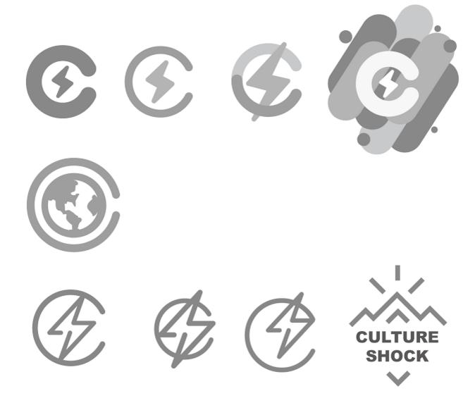 Culture shock - logos