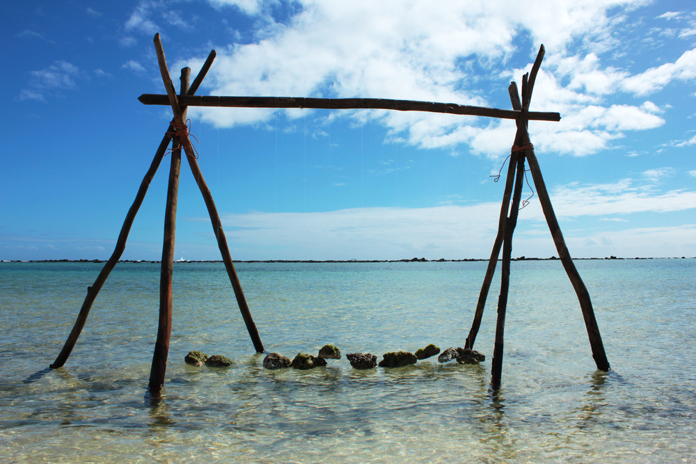 Balancing Act,  Flic-en-Flac, Mauritius, 2016
