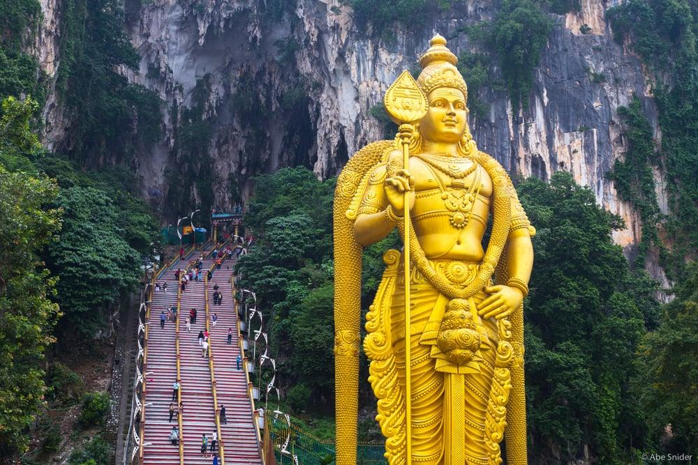 Lord Murugan Statue, Malaysia