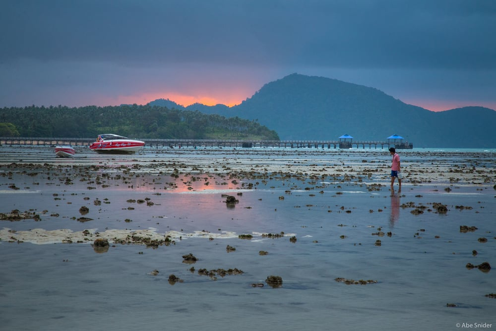 Low Tide at Rawai