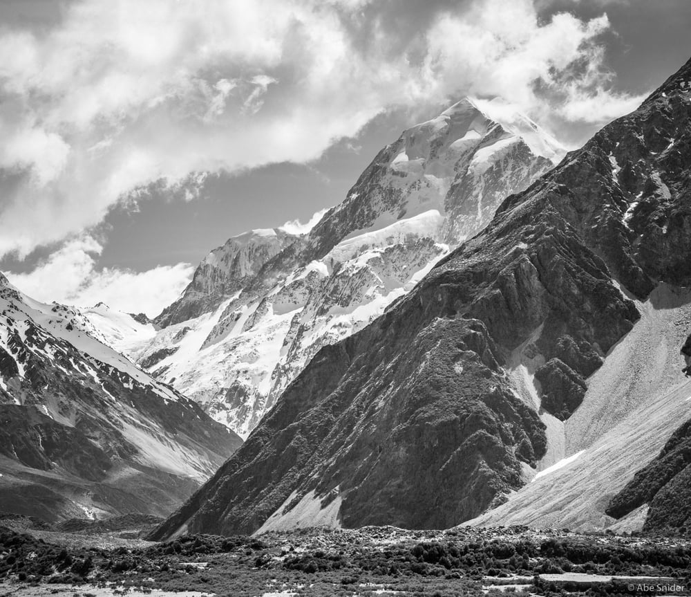 Panorama of Mt. Cook