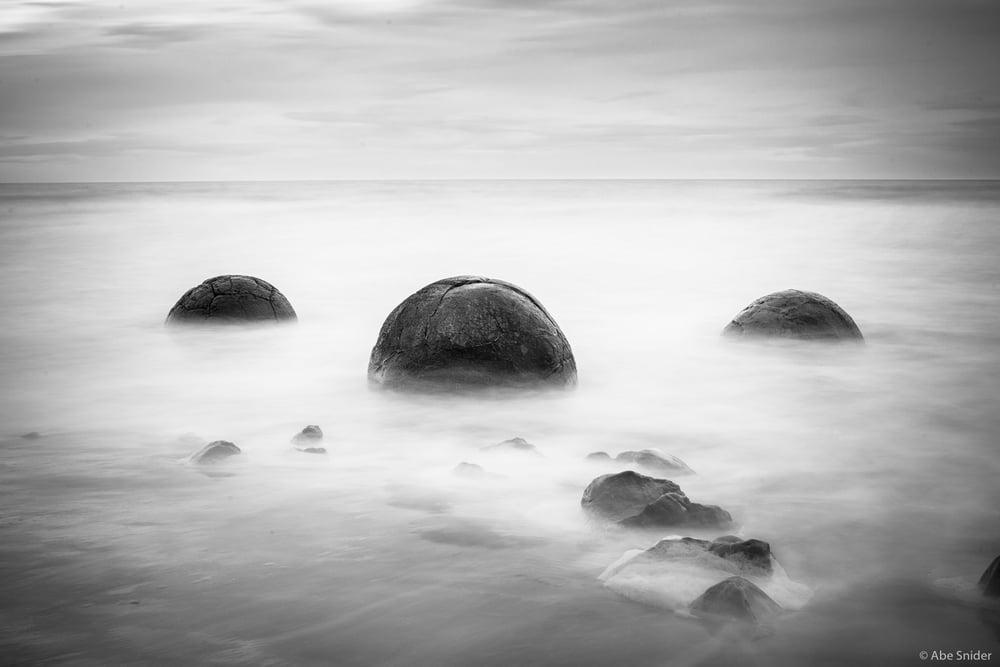 Morekai Boulders, New Zealand