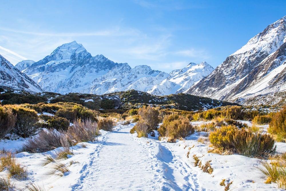 Mt Cook, New Zealand.