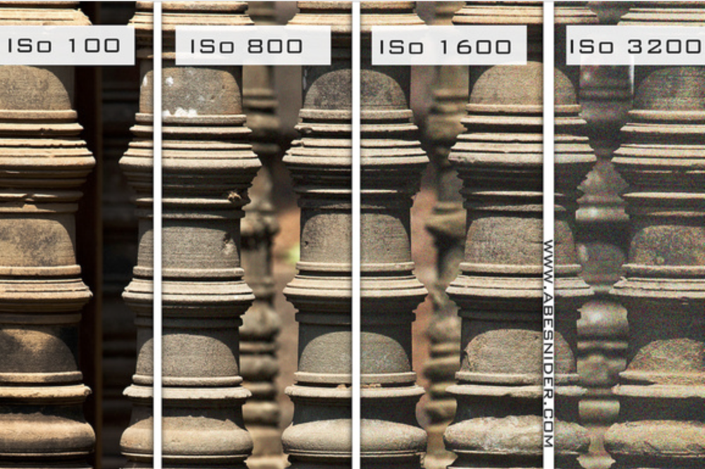 Image Noise Comparison: