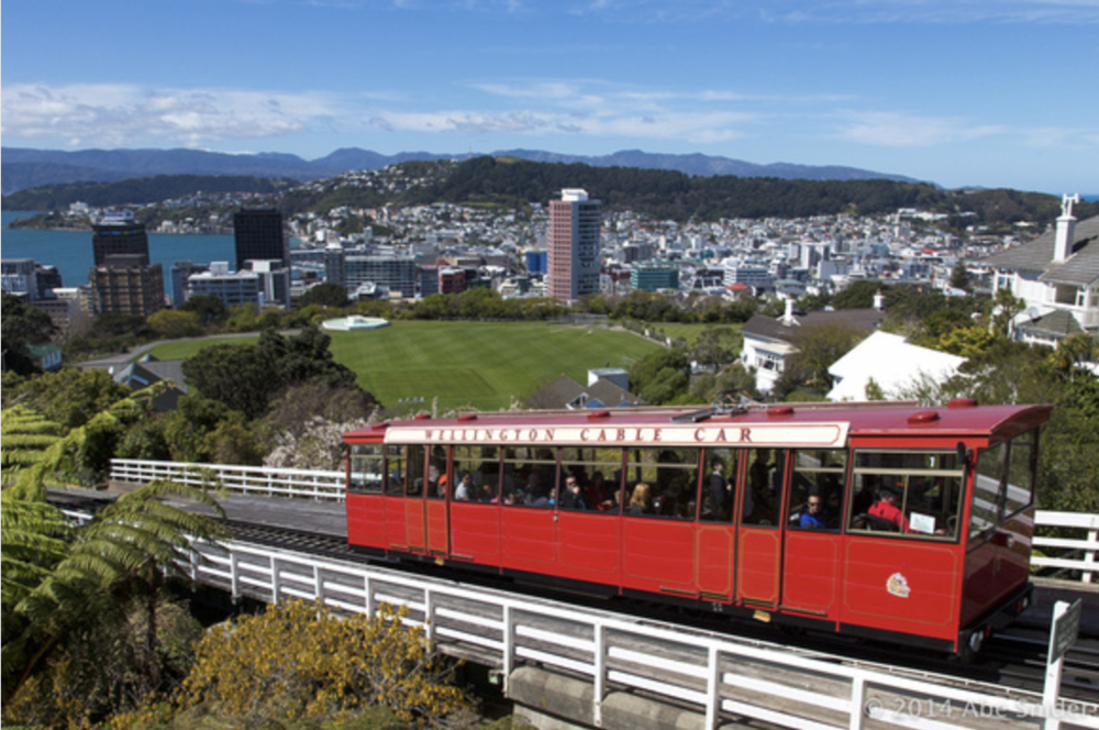 Wellington Cable Car & Botanical Gardens.