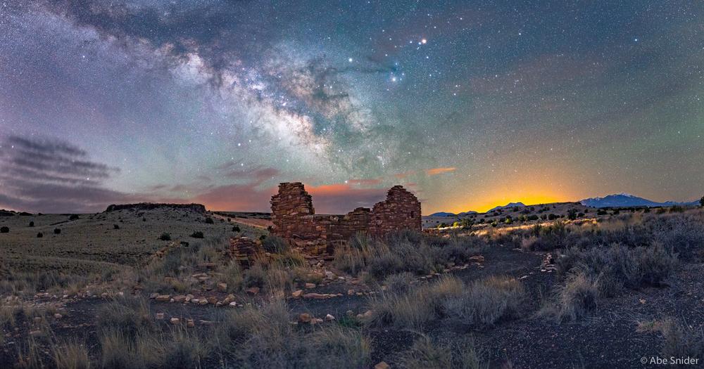 Lomaki Pueblo - Night