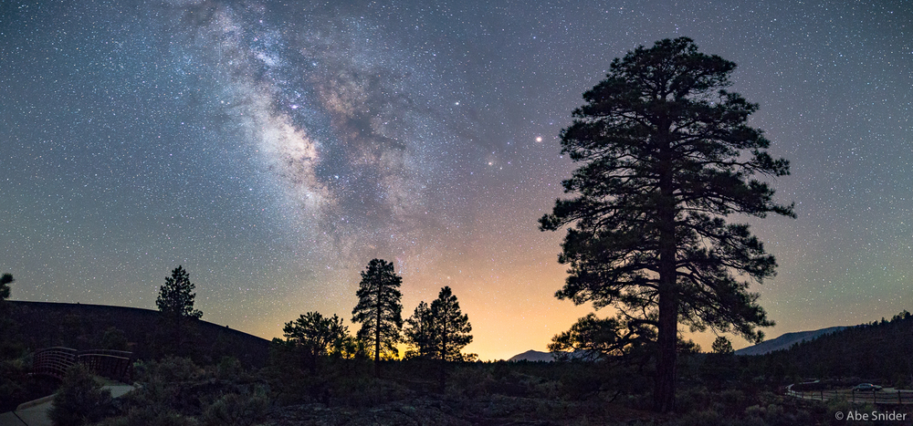 Sunset Crater Walk Under The Stars