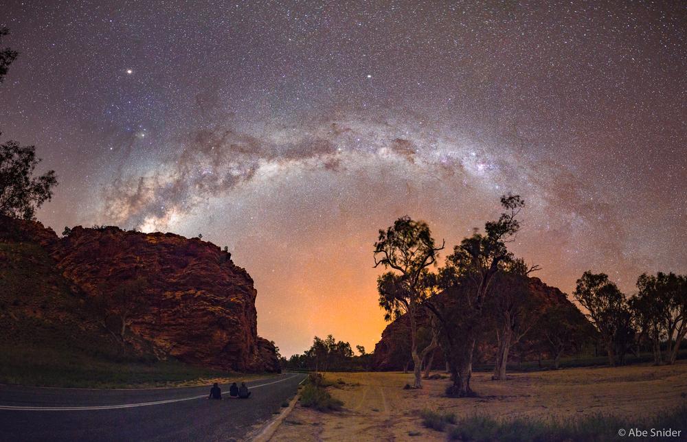 Stargazing Selfie