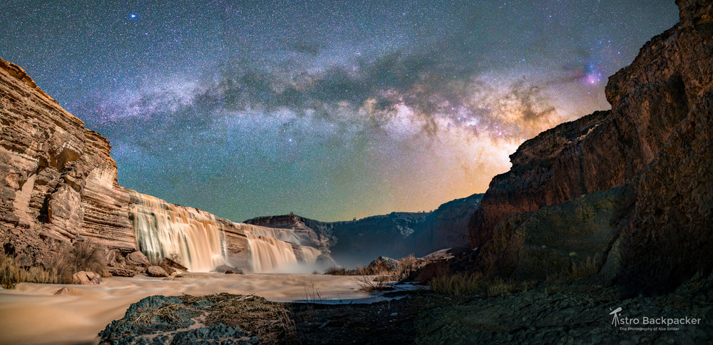Grand Falls and the Milky Way