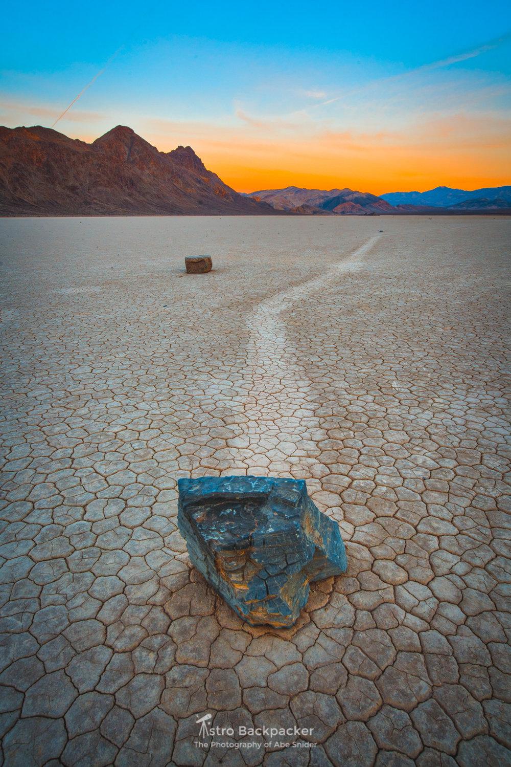 Sailing Stones, Death Valley