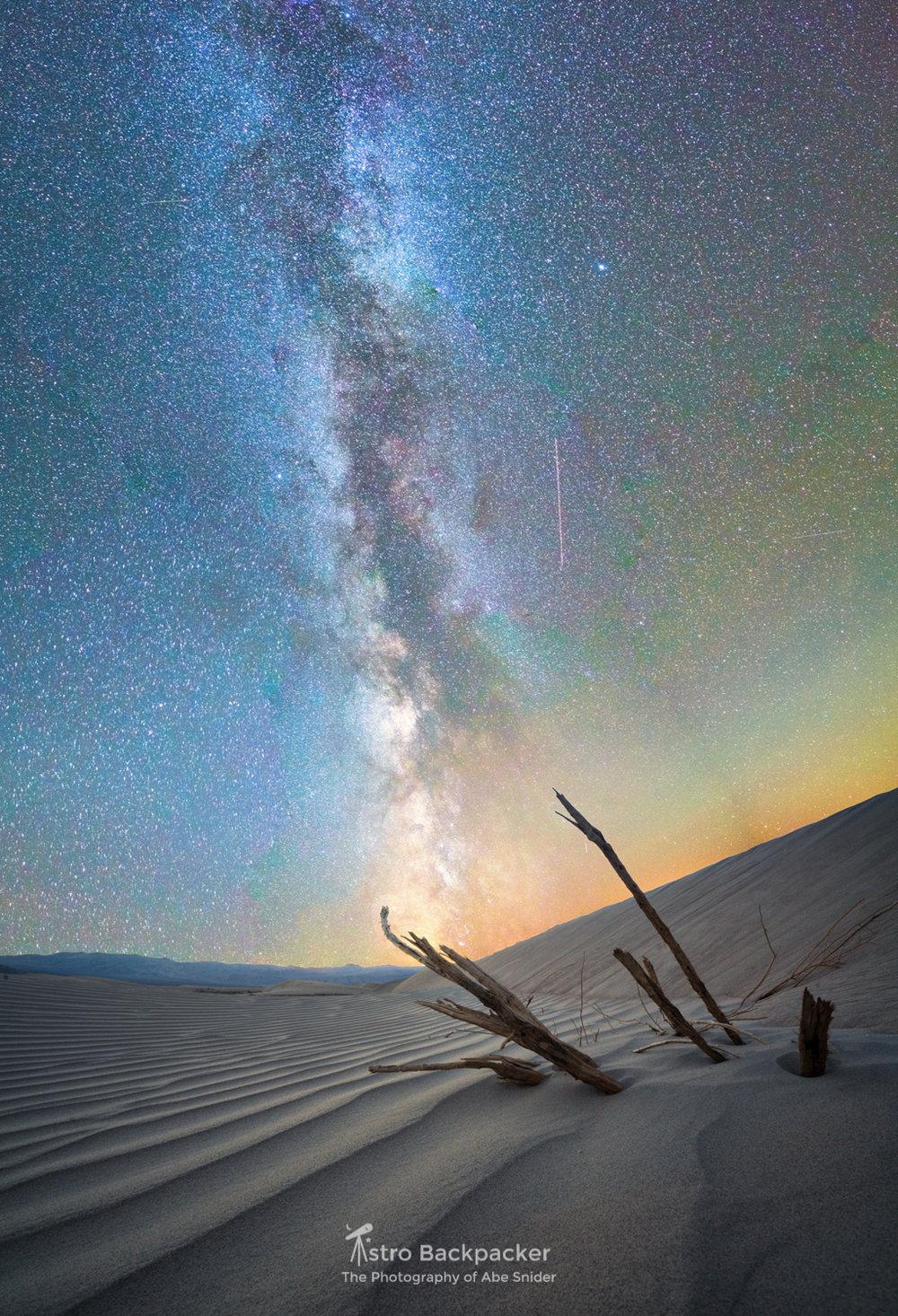 Mesquite Flats Milky Way