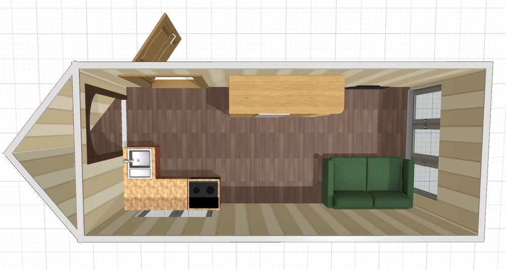 3d render to get a sense of things. -