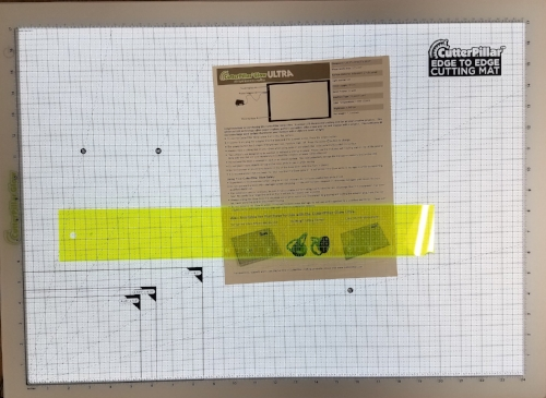 Cutterpillar Light Board and Cutting Mat