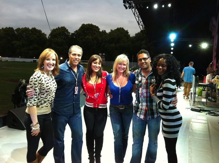 BV's for Westlife at Proms in the Park