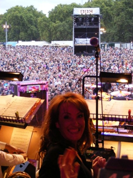 Crowd Shot at Proms in the Park