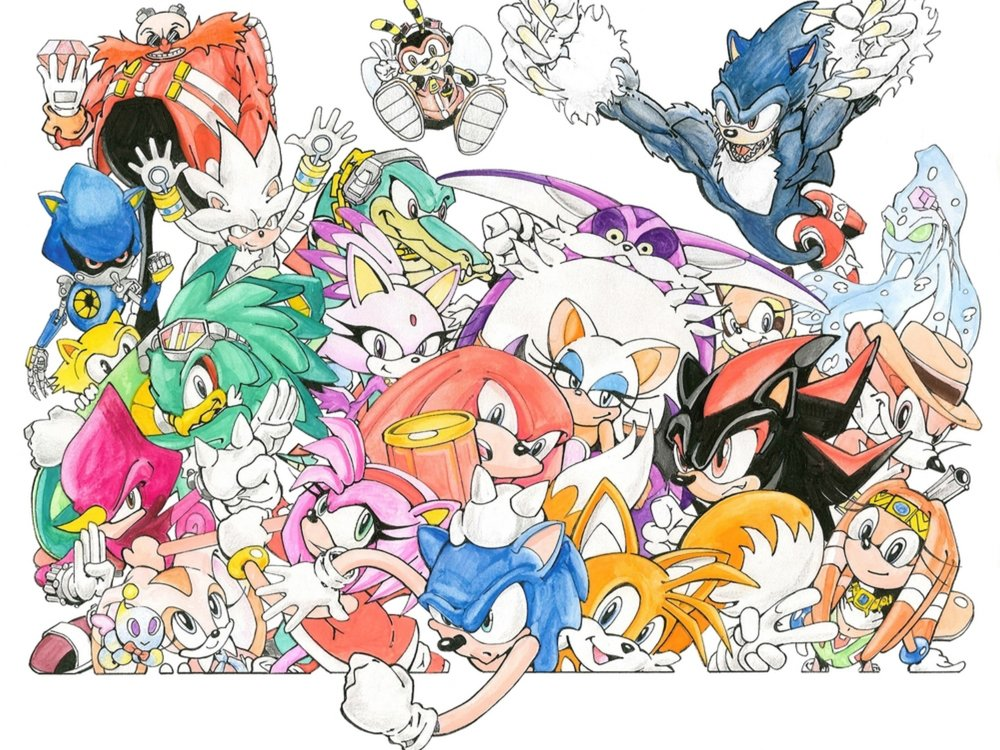 SONIC THE HEDGEHOG'S LONG, GREAT, ROCKY HISTORY