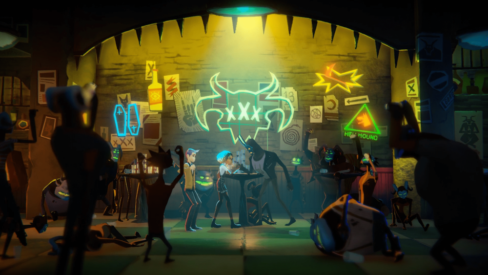 How to make a game about drinking with Satan