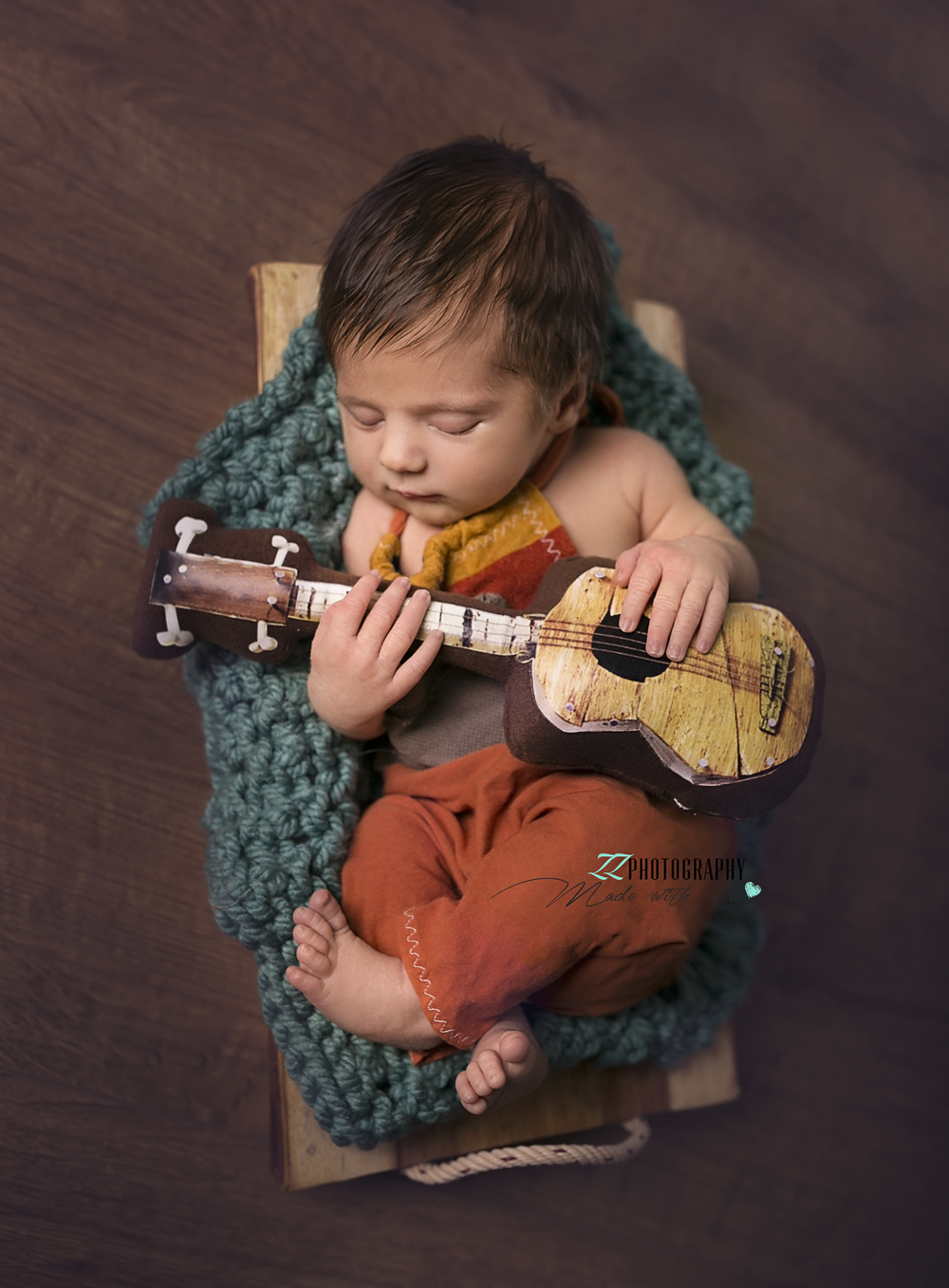 guitar baby newborn exeter