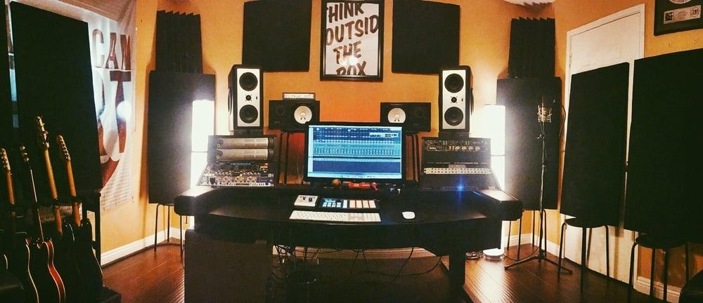 Updated studio!
