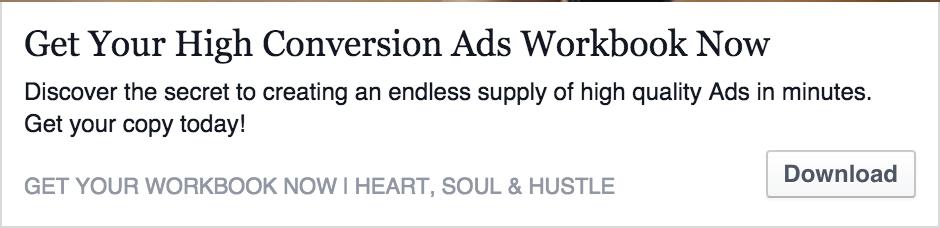FB Ad Link