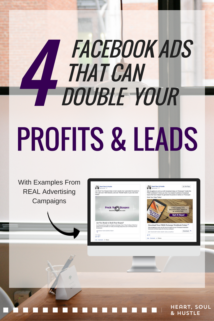 4 Ways to Double Profits With Facebook Ads