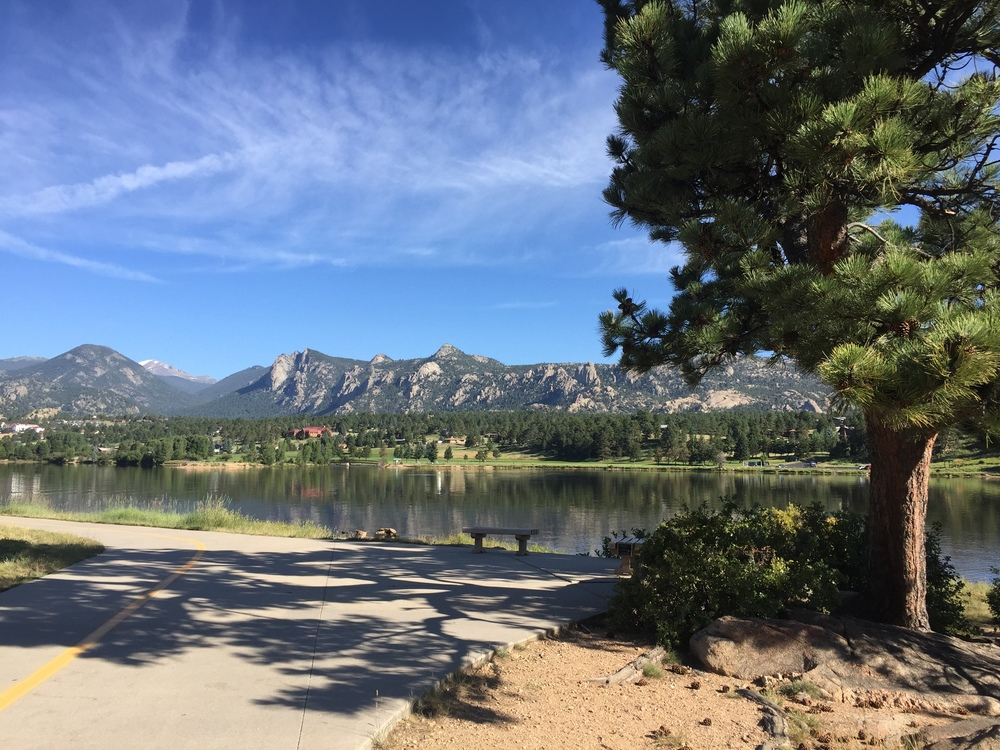 Take a walk around Lake Estes