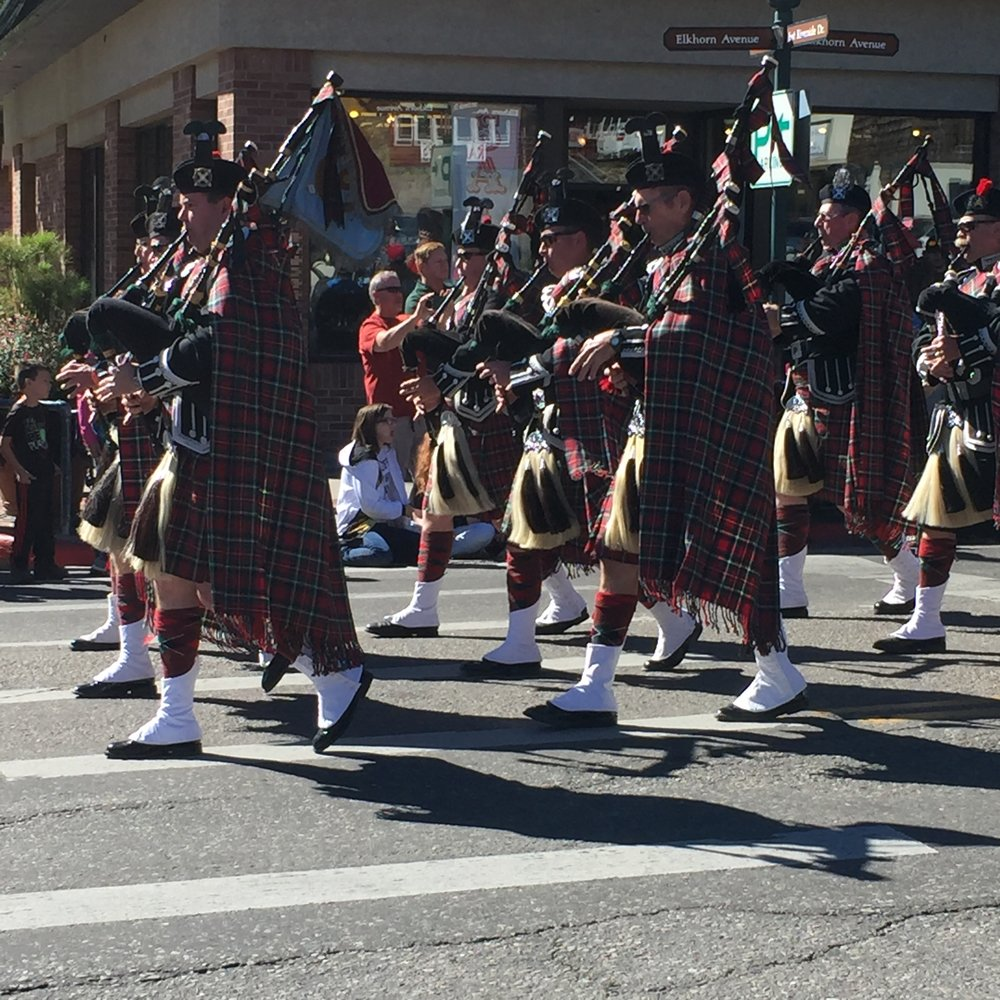 Longs Peak Scottish-Irish Highland Festival - Parade!