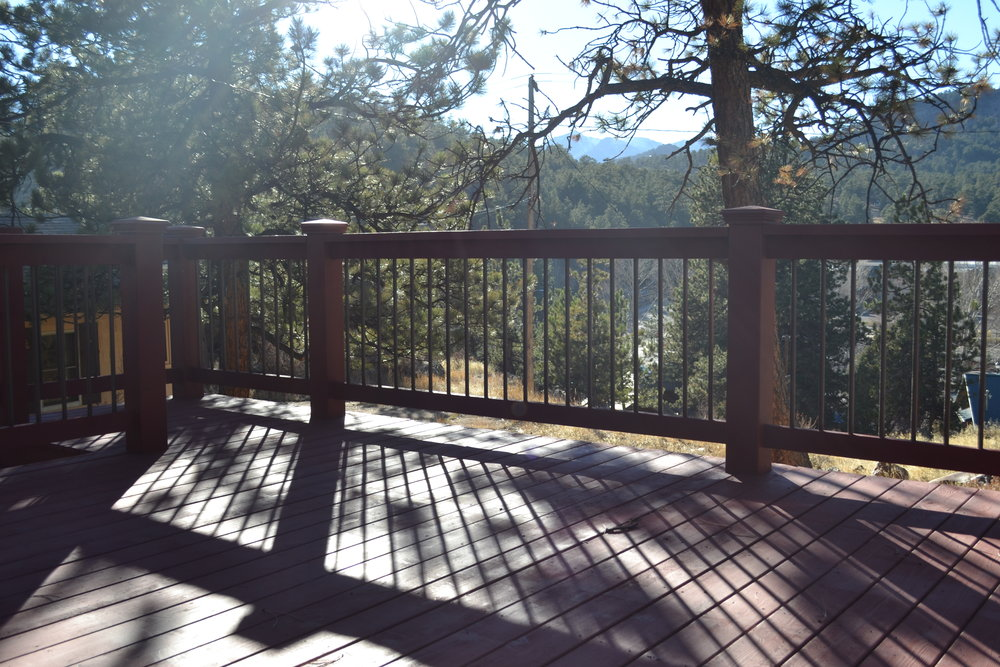 Conifer - Back Deck