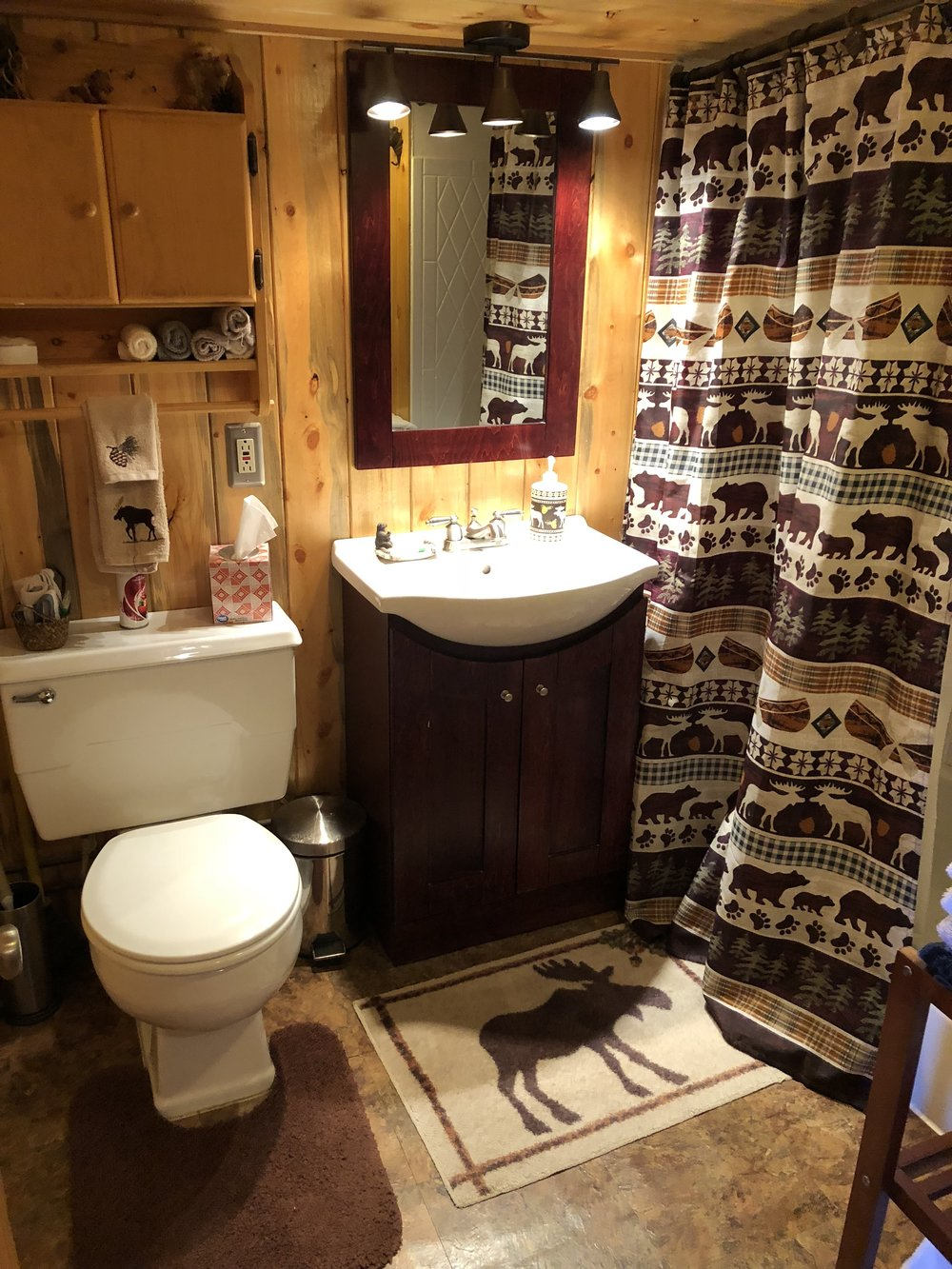 Bear Bottom - Bathroom